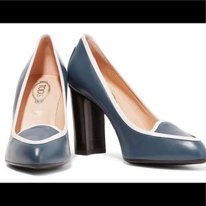 Tod's two-toned leather pumps